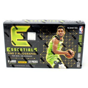 2017/18 Panini Essentials Basketball Hobby 12 Box Case