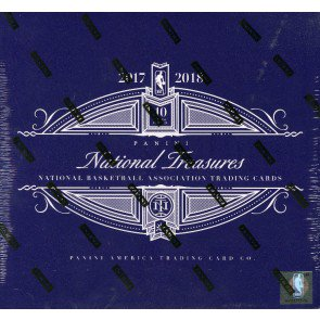 2017/18 Panini National Treasures Basketball Hobby 4 Box Case