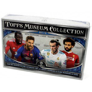 2017/18 Topps UEFA Champions League Museum Soccer 12 Box Case