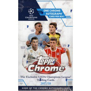 2017/18 Topps UEFA Champions League Chrome Soccer Box