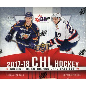 2017/18 Upper Deck CHL Hockey Hobby Box