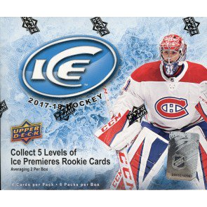 2017/18 Upper Deck ICE Hockey Hobby 10 Box Case