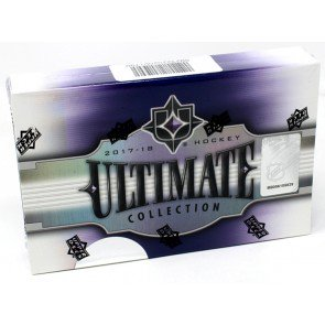 2017/18 Upper Deck Ultimate Collection Hockey Hobby Box