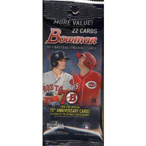 2017 Bowman Baseball Fat Pack - 12 Pack Lot