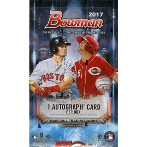 2017 Bowman Baseball Hobby 12 Box Case