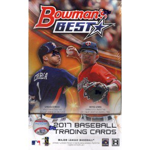 2017 Bowman's Best Baseball Hobby 8 Box Case