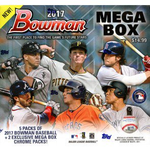 2017 Bowman Mega Box Baseball