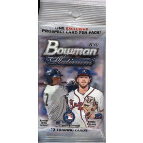 2017 Bowman Platinum Baseball Fat Pack