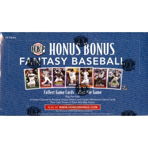 2017 Honus Bonus Fantasy Baseball 10 Box Case