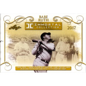 2017 Leaf Babe Ruth Immortal Collection Box