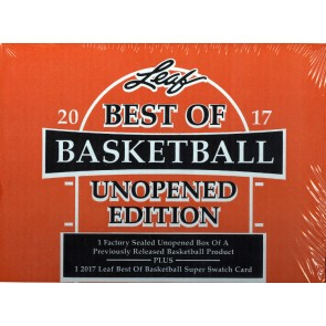 2016/17 Leaf Best of Basketball Unopened Edition 6 Box Case