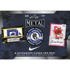 2017 Leaf Metal Perfect Game All-American Baseball 15 Box Case