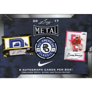 2017 Leaf Metal Perfect Game All-American Baseball Box