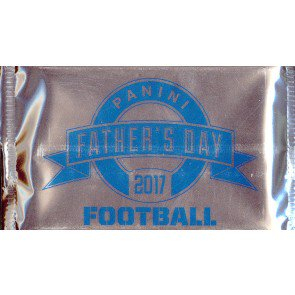 2017 Panini Father's Day Football 10 Pack Lot