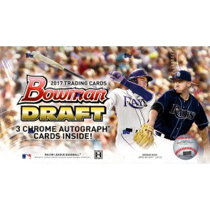 2017 Bowman Draft Baseball Jumbo 8 Box Case