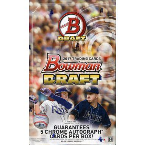 2017 Bowman Draft Baseball Super Jumbo 6 Box Case