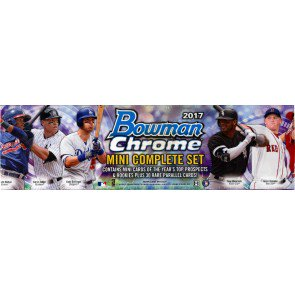 2017 Bowman Chrome Baseball Mini Factory Set - 8 Set Case