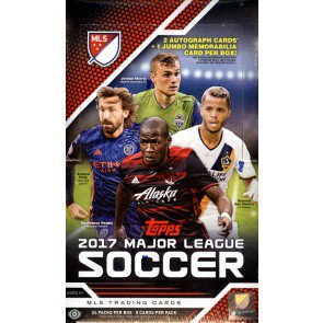 2017 Topps MLS Soccer 12 Box Case