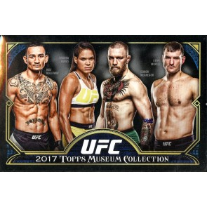2017 Topps UFC Museum Collection Hobby