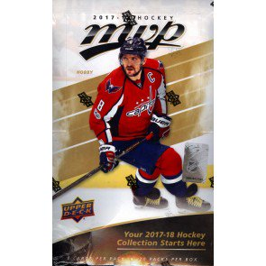 2017/18 Upper Deck MVP Hockey Box