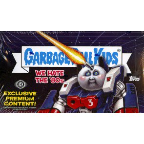 2018 Topps Garbage Pail Kids We Hate The 80s Coll ED Box