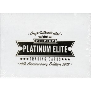 2018 Onyx Premium Platinum Elite Baseball Box