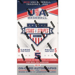 2018 Panini Stars and Stripes Baseball Hobby 20 Box Case