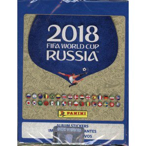 2018 Panini World Cup Soccer Stickers Box