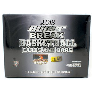 2018 Super Break Cards & Bars Basketball - 4 Box Case