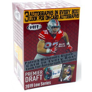 2019 Football Cards Boxes Cases