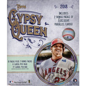 2018 Topps Gypsy Queen Baseball Monster Box