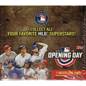 2018 Topps Opening Day Baseball Retail Box