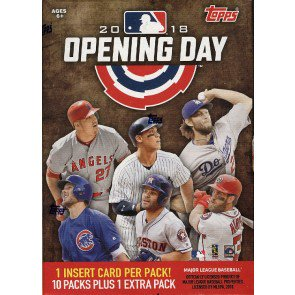 2018 Topps Opening Day Baseball Blaster 16 Box Case