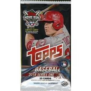 2018 Topps Series 1 Baseball Hobby Pack