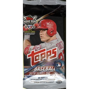 2018 Topps Series 1 Baseball Jumbo Pack