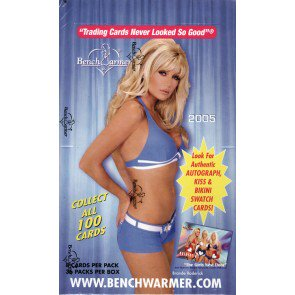 2005 Benchwarmer Trading Cards 12 Box Case