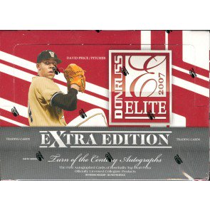 2007 Donruss Elite Extra Edition Baseball Hobby 20 Box Case