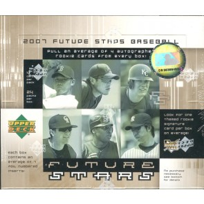 2007 Upper Deck Future Stars Baseball Hobby 12 Box Case