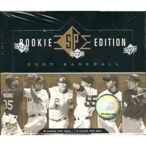 2007 Upper Deck SP Rookie Edition Baseball Hobby Box