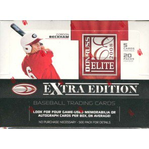 2008 Donruss Elite Extra Edition Baseball Hobby 20 Box Case