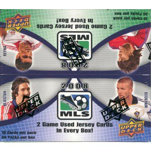 2008 Upper Deck MLS Soccer Box