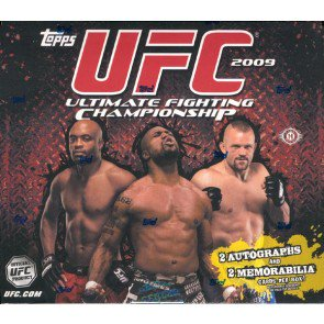 2009 Topps UFC Series 2 Hobby 12 Box Case