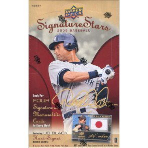 2009 Upper Deck Signature Stars Baseball Hobby 20 Box Case