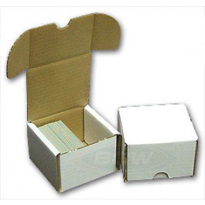 200 Count Cardboard Storage Box - 50ct Bundle