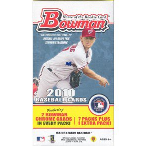 2010 Bowman Baseball Blaster 16 Box Lot