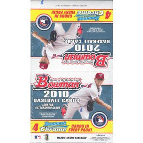 2010 Bowman Baseball Fat Pack Box
