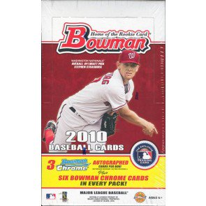 2010 Bowman Baseball Jumbo (HTA) Box