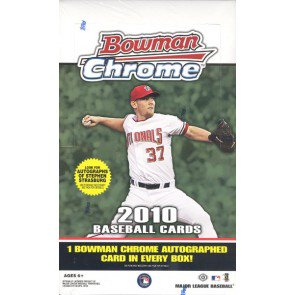 2010 Bowman Chrome Baseball Hobby 12 Box Case