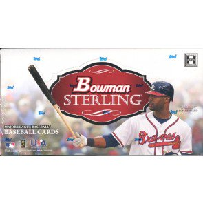 2010 Bowman Sterling Baseball Hobby 4 Box Case
