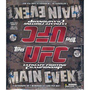 2010 Topps UFC Main Event Retail 12 Box Case